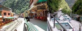 マチュピチュ村と温泉