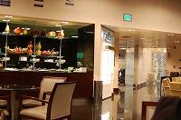 リマ空港のビジネスラウンジ