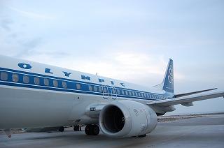 オリンピック航空機