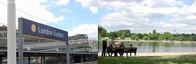 ユーストンとハイドパーク