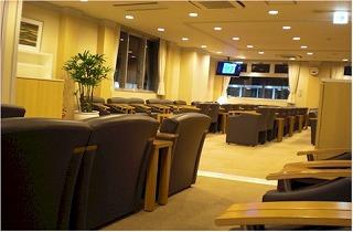 羽田空港国際線「特別待合室」