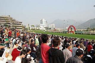 香港シャティン競馬場