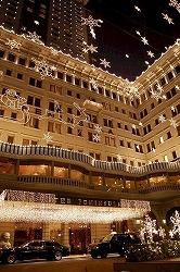 香港夜景 ペニンシュラホテル