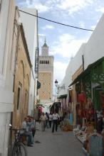 チュニジア チュニスの旧市街