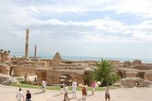 チュニジア カルタゴ遺跡